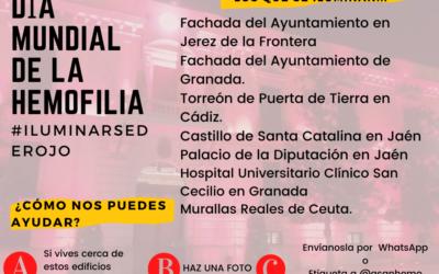 Andalucía se ilumina de rojo