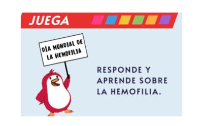 Celebra con ASANHEMO el Día Mundial de la Hemofilia.