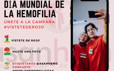 Únete a la campaña #vistetederojo