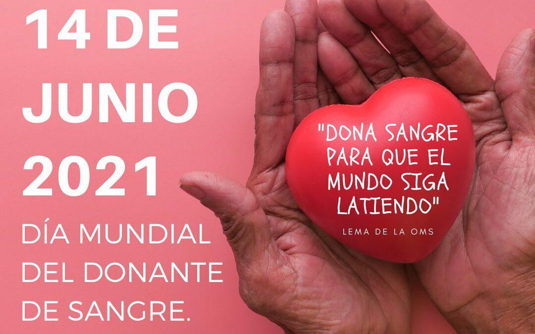 """Asanhemo se suma a la celebración del """"Día Mundial del Donante de Sangre 2021"""""""