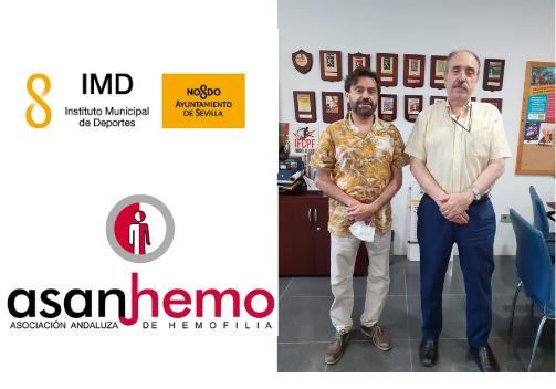 Reunión con D. Manuel Nieto Gerente del IMD Sevilla.